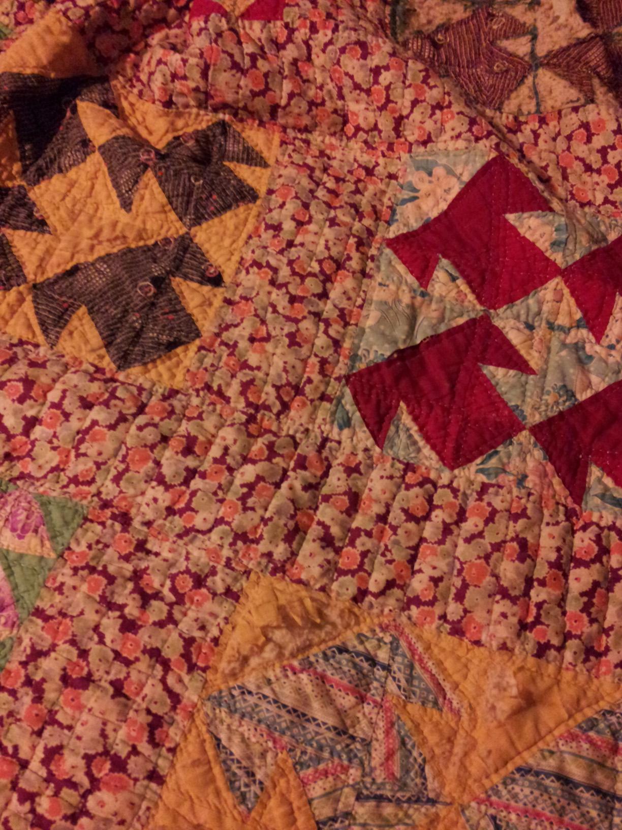 Comfy old quilt
