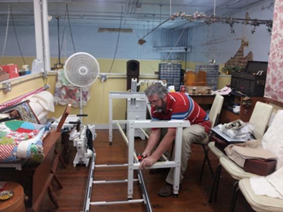 Second longarm machine